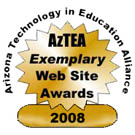 AZTea Exemplary Website Award